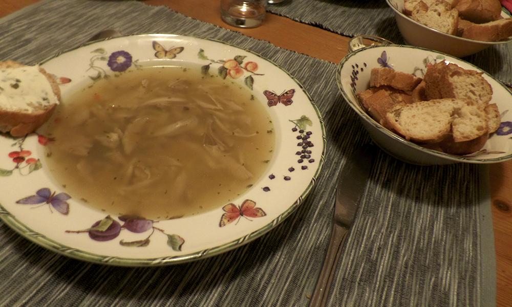 Recept | Glutenvrije kippensoep