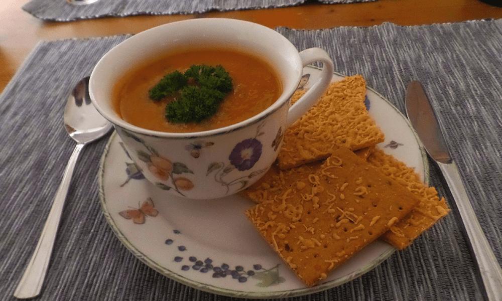 Recept | Glutenvrije Zoete Aardappelsoep – AH Verspakket