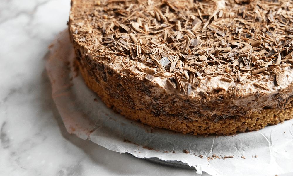 Glutenvrije Chocolade Cheesecake