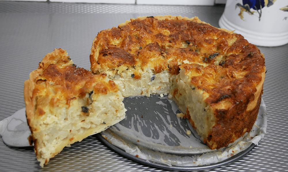 Recept | Glutenvrije Bloemkoolquiche