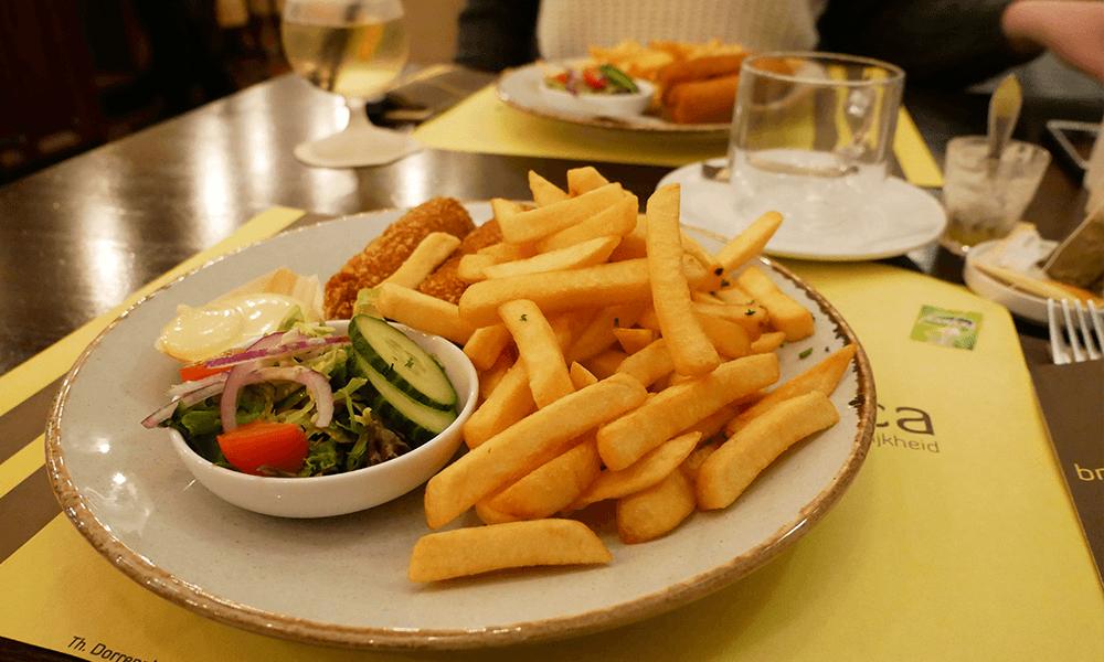 Brasserie America in Valkenburg en een gezellig dagje | Glutenvrij op Pad