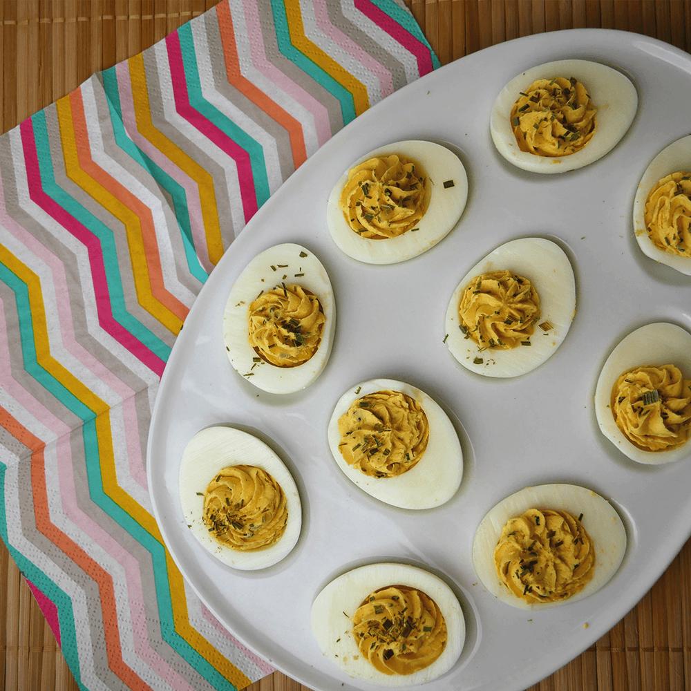 Glutenvrije gevulde eieren