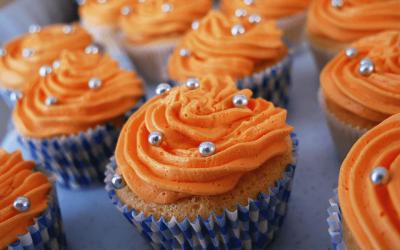 Recept | Glutenvrije Koningsdag Cupcakes