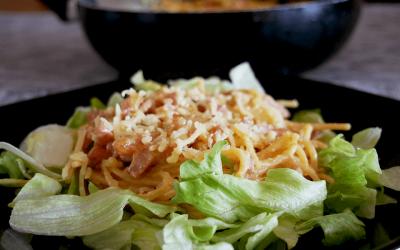 Recept | Glutenvrije knoflookspaghetti