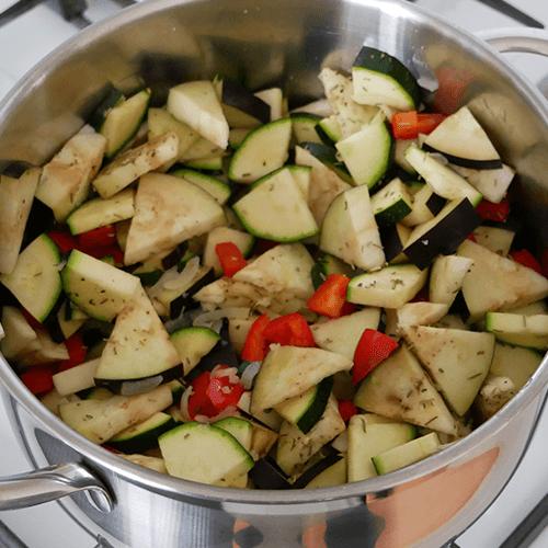 Glutenvrije Tomatensoep met courgette