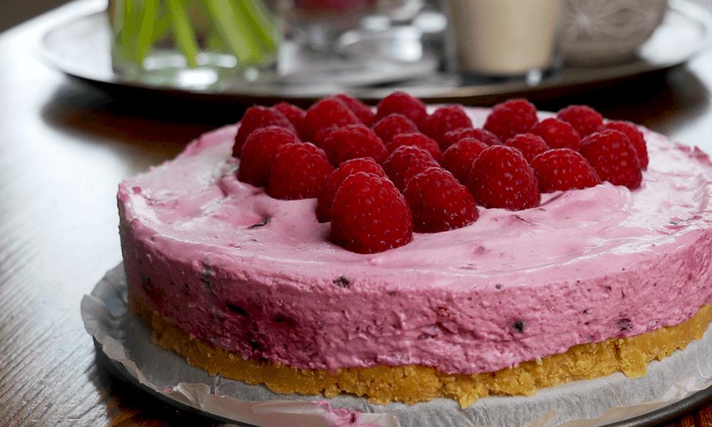 Recept | Glutenvrije Yoghurttaart met bosvruchten