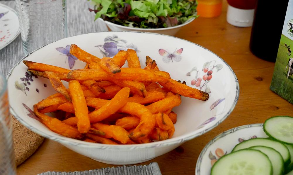 Zoete aardappelfriet uit de airfryer – Glutenvrije Tips