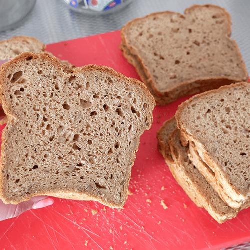Glutenvrije broodmix