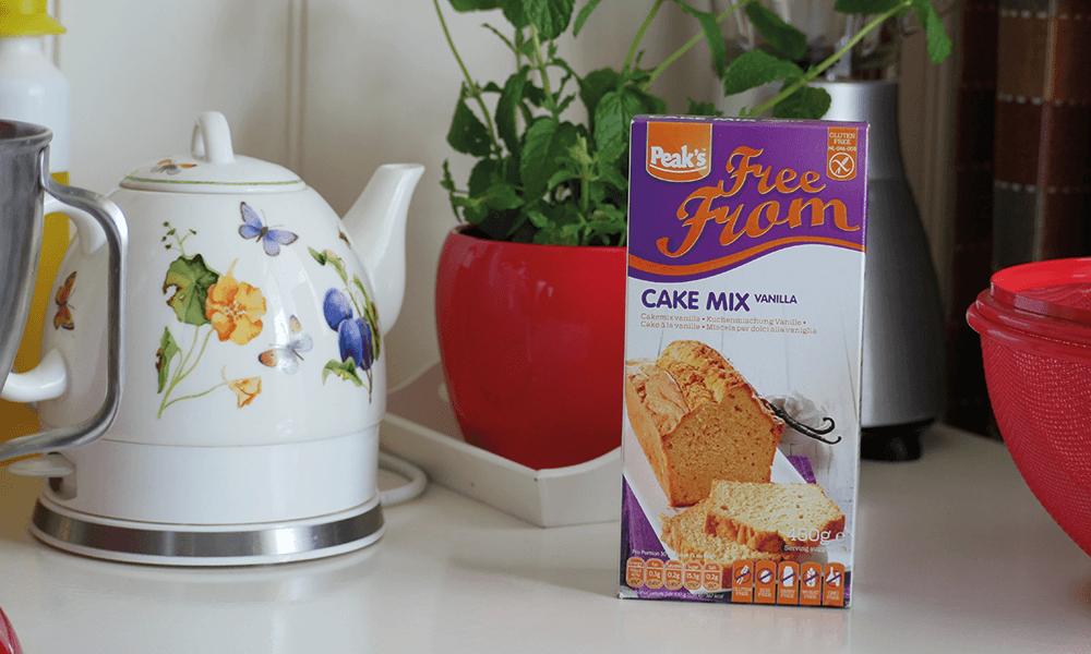 Glutenvrije cakemix van Peaks Free From | Glutenvrije Tips