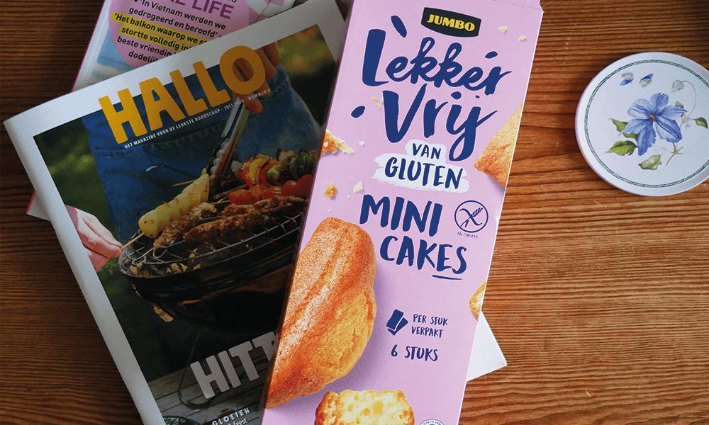 NIEUW! Glutenvrije Mini Cakes van Jumbo Lekker Vrij van Gluten | Glutenvrije Tips