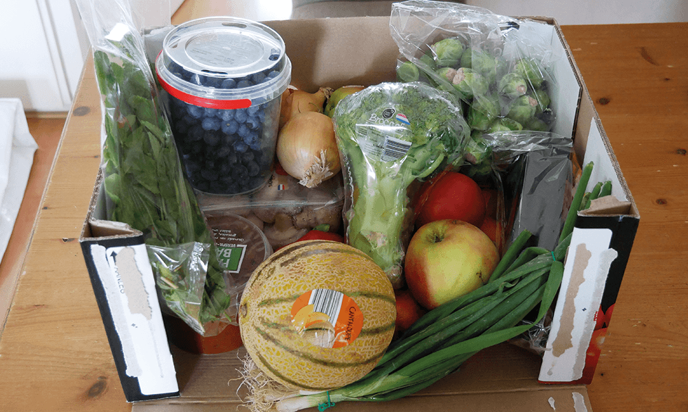 Mijn eerste 'Too good to go' pakket van de lidl! En wat maak je er dan mee? | Glutenvrije Tips