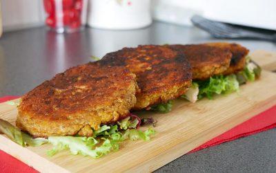Glutenvrije vegetarische burgers van Boekoeloekoe mix | Glutenvrije Tips